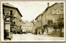 LE CHAMBON SUR LIGNON - Rue Centrale et route de St-Agrève. Ed. Roche