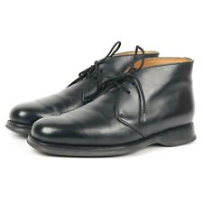 Church's 'Robbie' Black Leather Chukka Boots UK 7 F