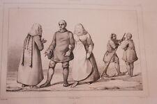 RUSSIE OSTIAKS GRAVURE SUR ACIER 1838 РОССИЯ PRINT