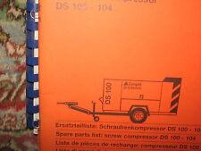 Compair DS 100 - 104 Schraubenkompressor