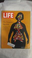 Life Magazine January 26th 1968 Exclusive Dangerous Diet Pills Published By Time