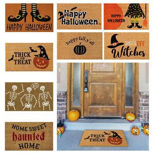 Halloween Doormat Front Door Welcome Blanket Home Decorations Halloween Decor