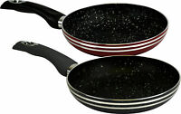 High Quality - (Set Of 2) - Non-Stick (Black) Combo 30cm Frying Cooking Pan