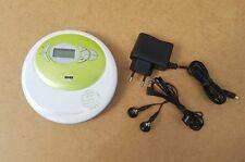 Grundig Discman CDP 5100 SPCD Tragbares CD/MP3-Player Grün