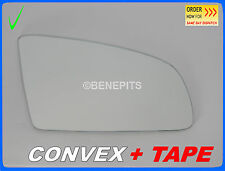 Wing Mirror Glass AUDI A3 A4 2003-2008 CONVEX + TAPE Right Side #A008 #6