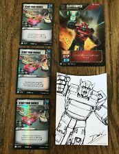 Cliffjumper, Renegade Warrior - Start Your Engines - Transformers TCG - Energon