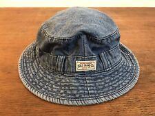 4e4e3336b4575 Ralph Lauren Polo Jeans Co. Blue Denim Bush Bucket Youth Hat Size 4-6X
