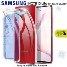 CUSTODIA per SAMSUNG Galaxy NOTE 10 LITE Cover TPU + Pellicola VETRO Temperato