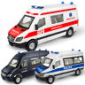 LT_ EY_ MINI DIECAST RESCUE AMBULANCE POLICE CAR PULL BACK MODEL KIDS TOY FUNN