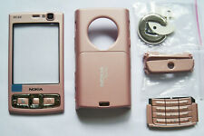 Pink full Houing cover fascia facia case faceplate for Nokia N95 8gb pink