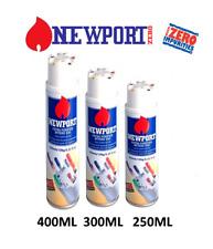More details for newport butane zero impurities butane gas lighter refill 250ml 300ml 400ml bho