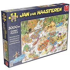Jumbo 619017. Puzzle De Rafting . Jan Van Haasteren. 3000 pièces