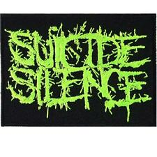 Suicide Silence hardcore heavy metal punk rock band Embroidered Iron On Patches