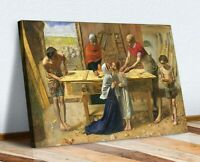 CANVAS WALL ART PRINT ARTWORK PAINTING John Everett Millais Christ House Parents