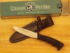 Vintage WESTERN U.S.A. Hunter R16 Sheath Knife NOS