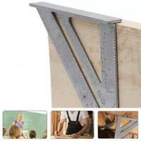 7 '' Aluminium Speed Square Dreieck Winkel Winkelmesser Lineale Holzbearbeitung