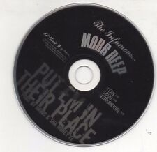 Mobb Deep Put Em in Their Place Limited Edition 2006 Promo CD Prodigy