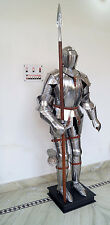 Vintage Medieval Knight Suit of Armor 15th Century Combat Full Body Armour