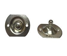 Circular 10mm Ball Stud Bracket for Ball Ended Gas Struts - Pair