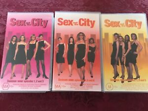 VHS - THE SEX IN THE CITY - 9 seasons video