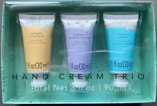 Target Beauty Hand Cream Trio Gift Box Ginger Blossom Lychee Peach Freesia Water
