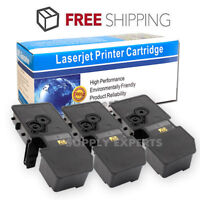3PK TK-5242 Compatible Black Toner For Kyocera ECOSYS M5526CDW P5026CDN P5026CDW