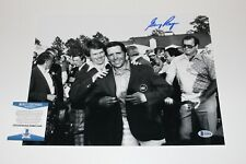 GOLF LEGEND GARY PLAYER SIGNED MASTERS CHAMPION 11x14 PHOTO BECKETT COA PROOF