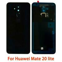 For Huawei Mate 20 Lite Housing Glass Battery Door Back Cover Case Camera lens R