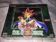 YUGIOH SOUL OF THE DUELIST 24 PACK BOOSTER BOX UNLIMITED FACTORY SEALED NEW