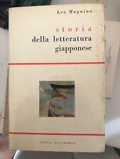 MAGNINO - STORIA DELLA LETTERATURA GIAPPONESE - NUOVA ACCADEMIA - 1957