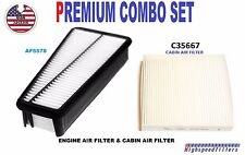 COMBO Air Filter & Cabin Air Filter Set for 2007 - 2010 TOYOTA TUNDRA 4.0L V6