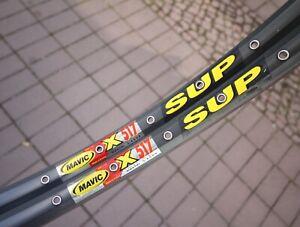 """MAVIC X 517 SUP Maxtal Clincher Rims Pair 26"""" / 32/32H / 789g Felge Drahtreifen"""