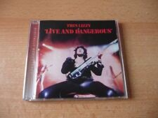 CD Thin Lizzy - Live and Dangerous - 1978/1996 - 17 Songs
