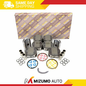 Full Gasket Set Pistons Bearings Fit 03-06 Nissan 350Z 3.5L VQ35DE Infiniti G35