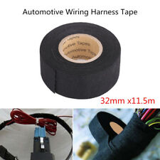 32mmx11.5m MultiPurpose Self Adhesive Felt Automotive Wiring Harness Cable Tape