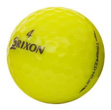 42 Near Mint Yellow Srixon Trispeed Tour Golf Balls AAAA