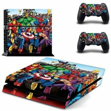 Avenger Decal Cover Skin Sticker For PS4 PlayStation 4 Console 2 Controller USA
