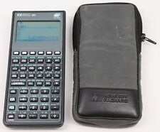(A) Hewlett Packard HP 48G Graphing Calculator with Case
