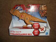 """Jurassic World Tyrannosaurus Rex Chomping Attack 8"""" long 2015 Hasbro NIP"""