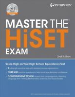 Master the HiSET Exam, Paperback by Peterson's (COR), Brand New, Free shippin...
