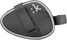 FIZIK Li: nk Medium Saddle bag, Fahrrad, Touch fastener, Black, Reflecting