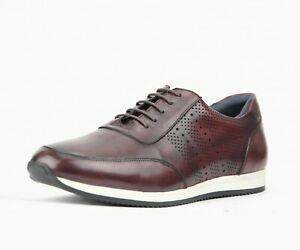 Men's Sneakers, Genuine Leather Fashion Sneakers for Men - Designer Sneakers