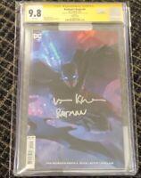 Val Kilmer Signed!! Batman's Grave #4 Variant CGC 9.8 Batman DC Comics 2020