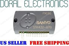 STK432-070 SANYO ORIGINAL Free Shipping US SELLER Integrated Circuit IC