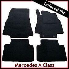SU MISURA tappetini per MERCEDES A-CLASS w169 2004-2012 Nero