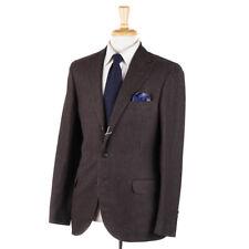 NWT $4575 BRUNELLO CUCINELLI Peak Lapel Linen-Wool-Silk Suit 38 R Slim-Fit