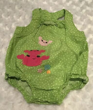 Gymboree Baby Infant Girl Romper Outfit Size 0-3 Months In EUC (BIN AH)