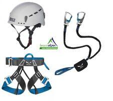 Klettersteigset Salewa Premium Attac + Salewa Evo Gurt + LACD Protector 2.0