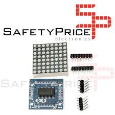 Modulo Matriz 8x8 LED ROJO MAX7219 matrix cascada arduino SP