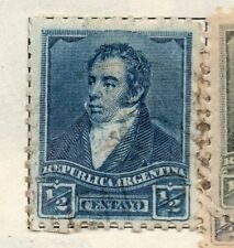 Stamp Yvert And Tellier N° 629 A 633 N l1 Argentina Stamp Argentina
